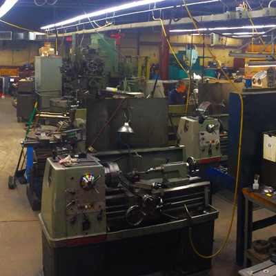 Snapshot of our Machine Shop